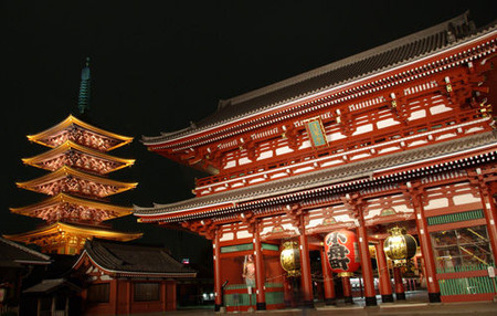 浅草寺night