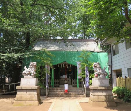神明氷川神社1