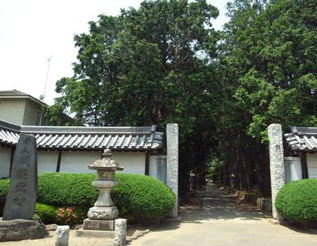 慶元寺・参道