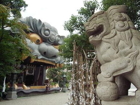 難波八阪神社0