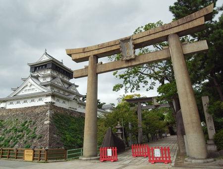 小倉八坂神社・小倉城