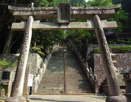 箸蔵寺・鳥居