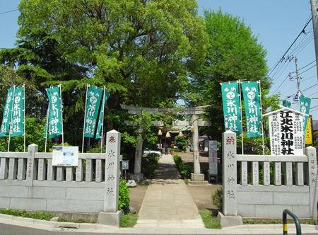 氷川神社・江北27年4月