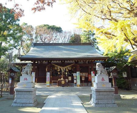 新田神社a