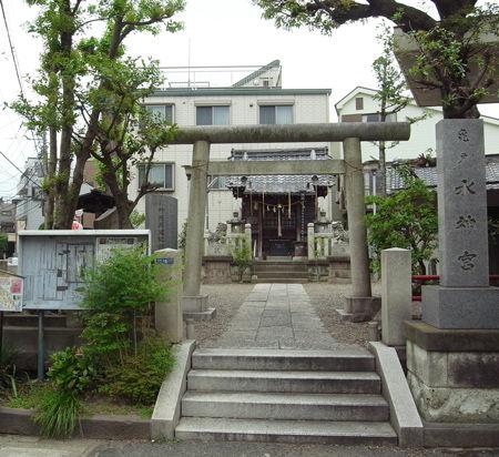 亀戸水神社0