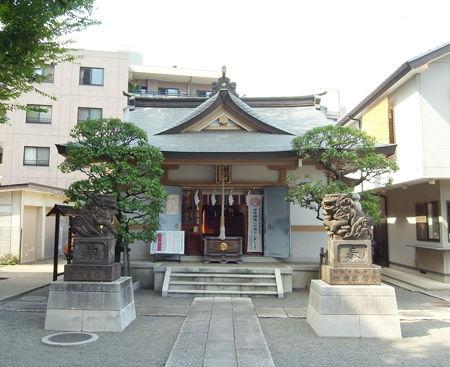 穏田神社1