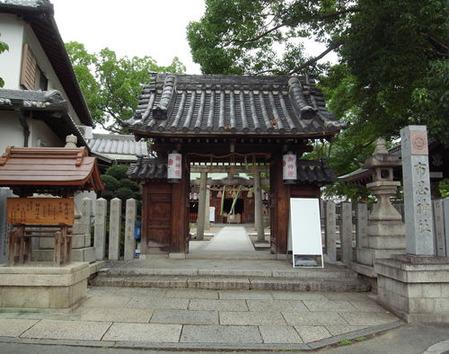 布忍神社・参道