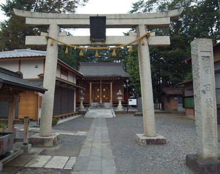 川越日枝神社・宮殿