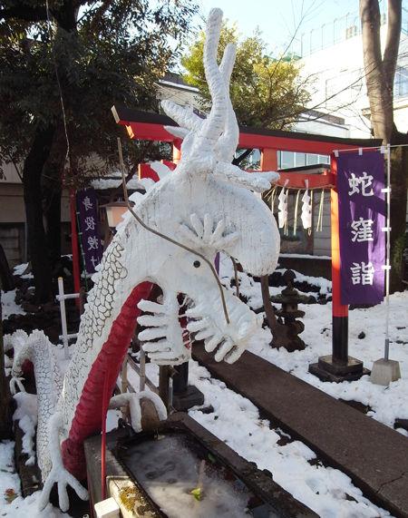 上神明天祖神社・蛇窪2