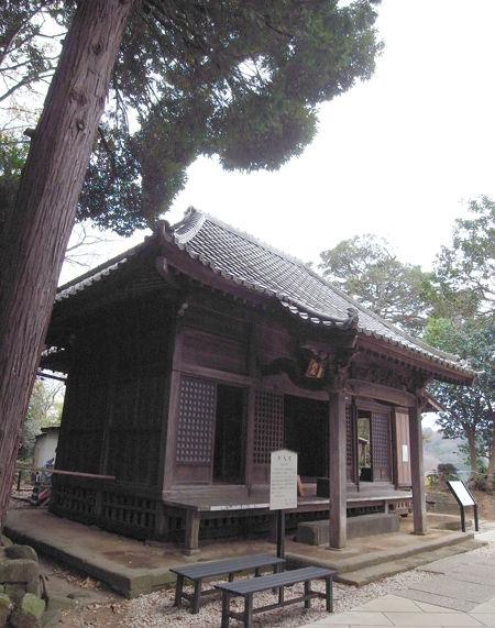 円覚寺151223弁天堂