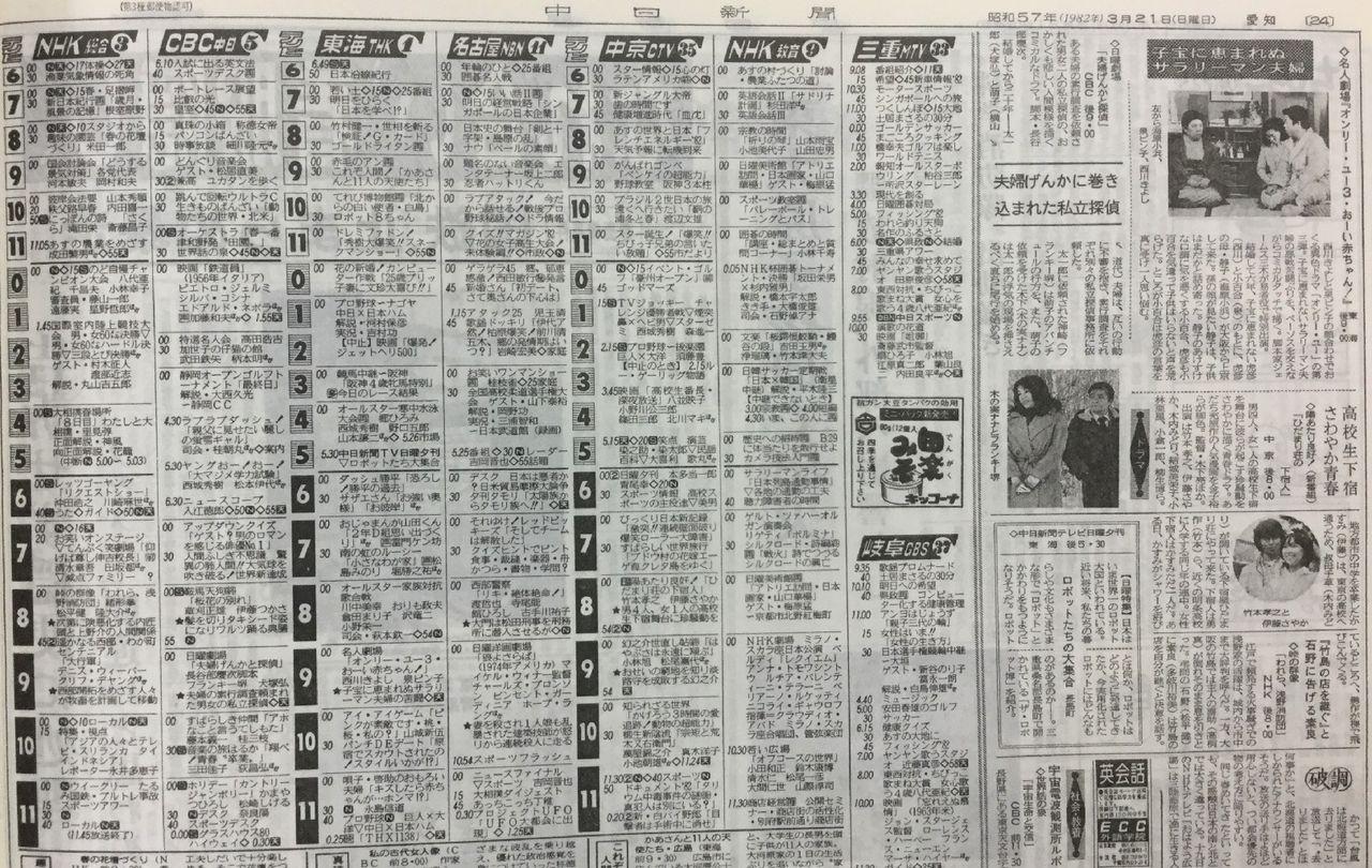 富山 テレビ 欄 こんにちは富山県です
