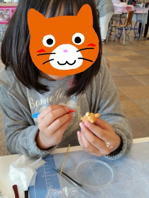 顔隠し茶ネコさん4