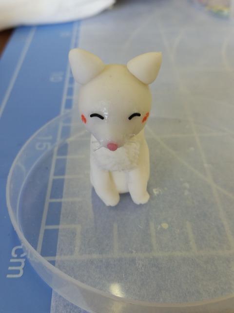 白猫ちゃん完成
