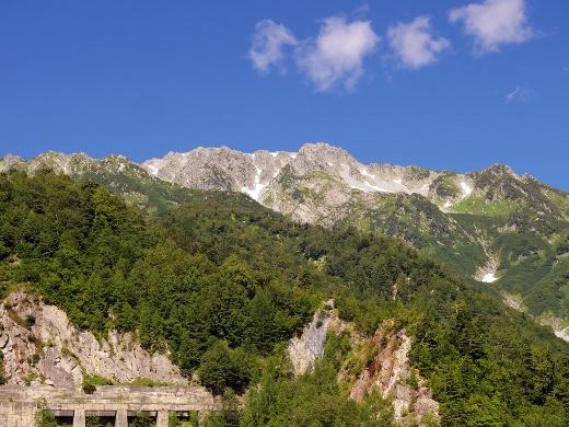 この山を越えて来た訳です。乗り物に乗ってきただけだけど。トンネルを作った人はすごいわw