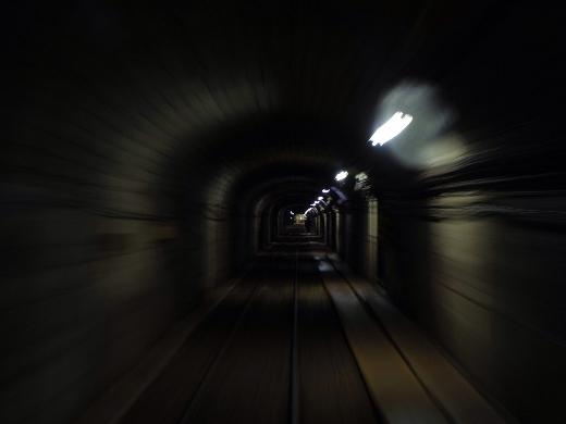 欅平駅へと向かいます。