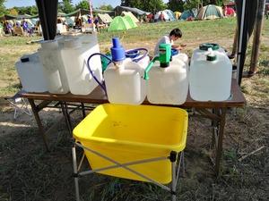 給排水の設営