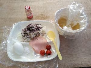 8月5日の朝食