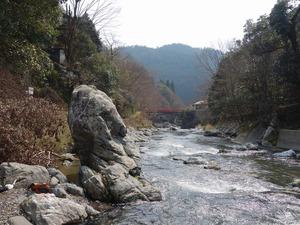 川下を見た風景