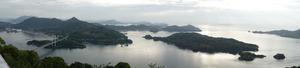 カレイ山展望公園からみた風景