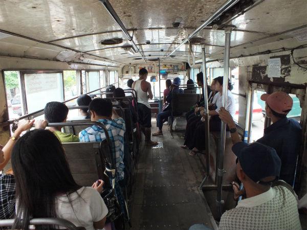 ヤンゴン路線バス