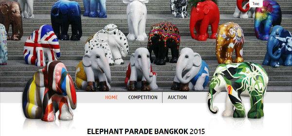 elephant palade 2015 bangkok