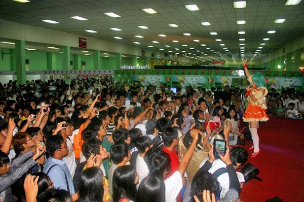 ヤンゴンのコスプレイベント