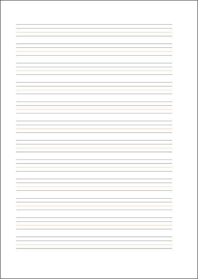 ミャンマー文字練習帳