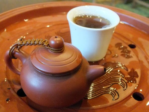 水仙茶(ウーロン茶)