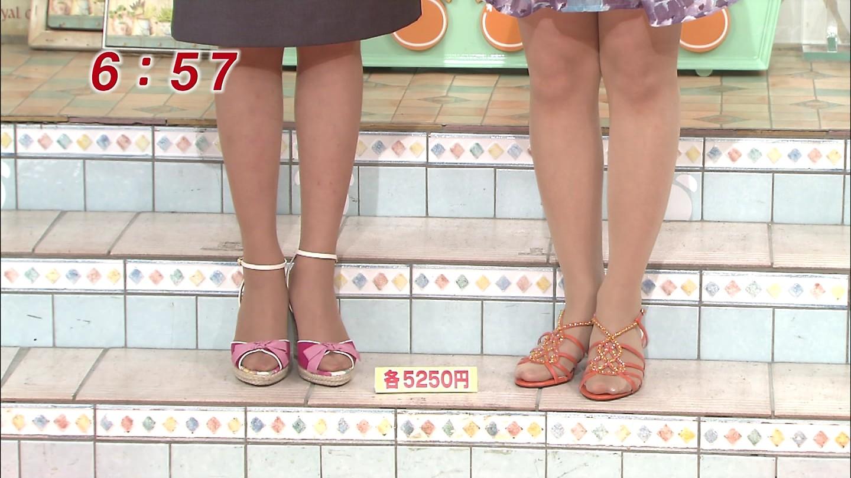【芸能人】タイツ・パンストのつま先【女子アナ】YouTube動画>2本 ->画像>269枚
