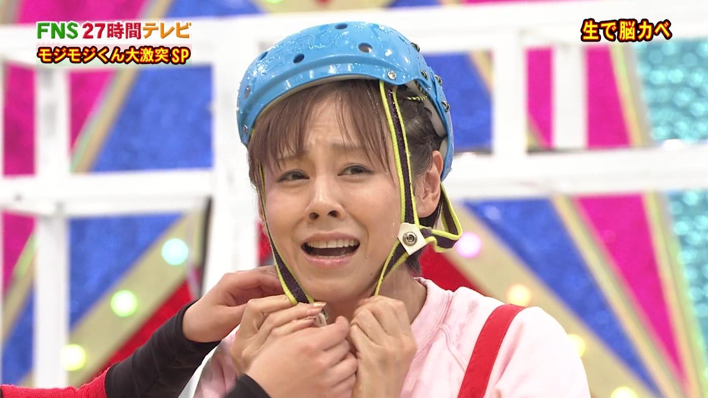 番組の企画で泣きそうな顔をする高橋真麻