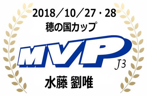 MVP(2018年10月穂の国カップ)J3