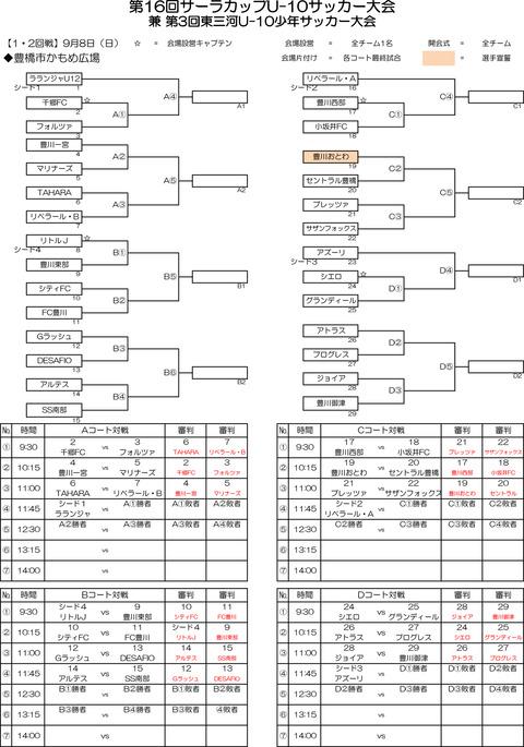 2019 第16回サーラカップ・組合せ のコピー-1