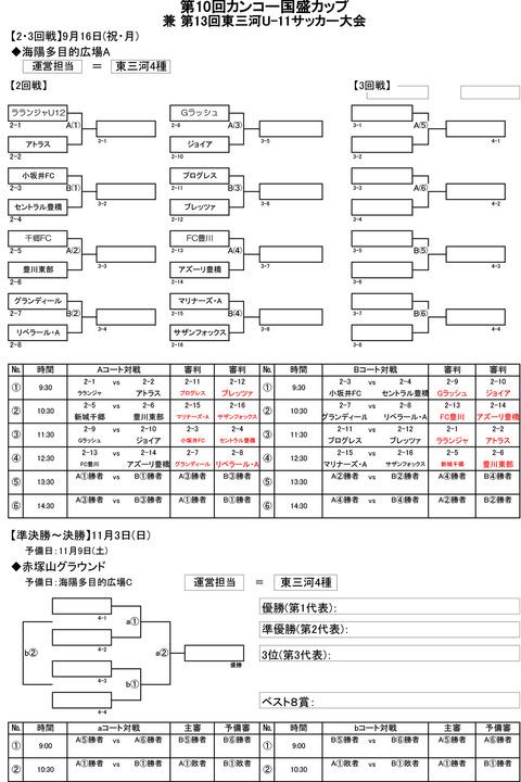 2019カンコー国盛カッフ゜抽選・組合せ のコピー