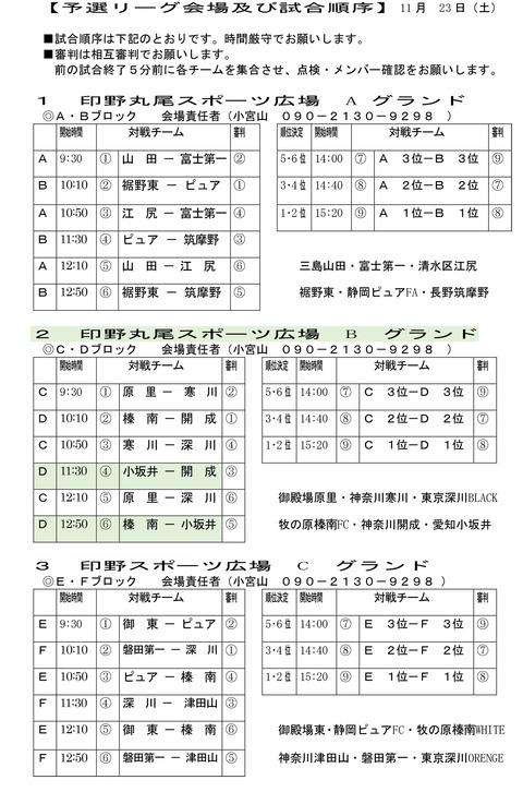 08.予選組合せ3年(U-9)-1