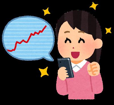 kabu_chart_smartphone_woman_happy