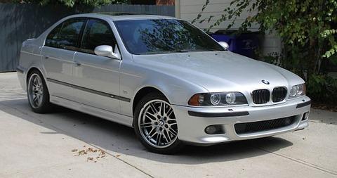 silver-e39-m5