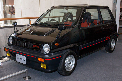 Honda_City_Turbo_front-left_2015_Honda_Collection_Hall