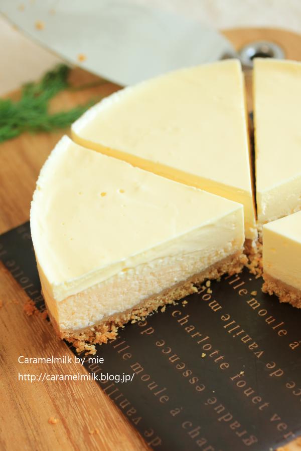 二層の仕立ての濃厚チーズケーキ (3)600×900