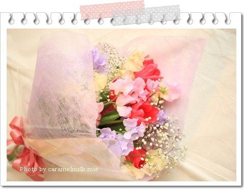 結婚記念日のお花 (1)450×300