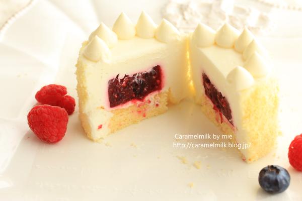 濃厚マスカルポーネのクリーミーチーズケーキ  カット (1)600×400