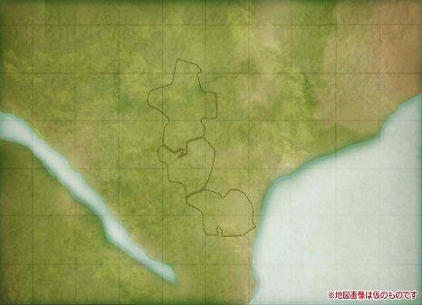 地図画像は仮のものです