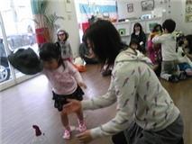 幼児輪投げ