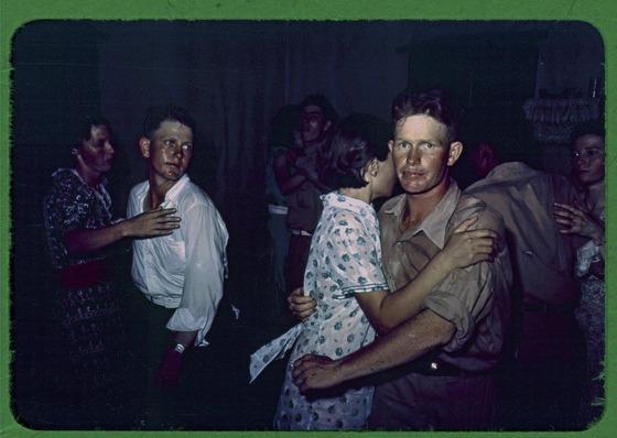 1940 Oklahoma square dance
