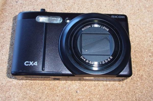 リコー CX4中古を買う