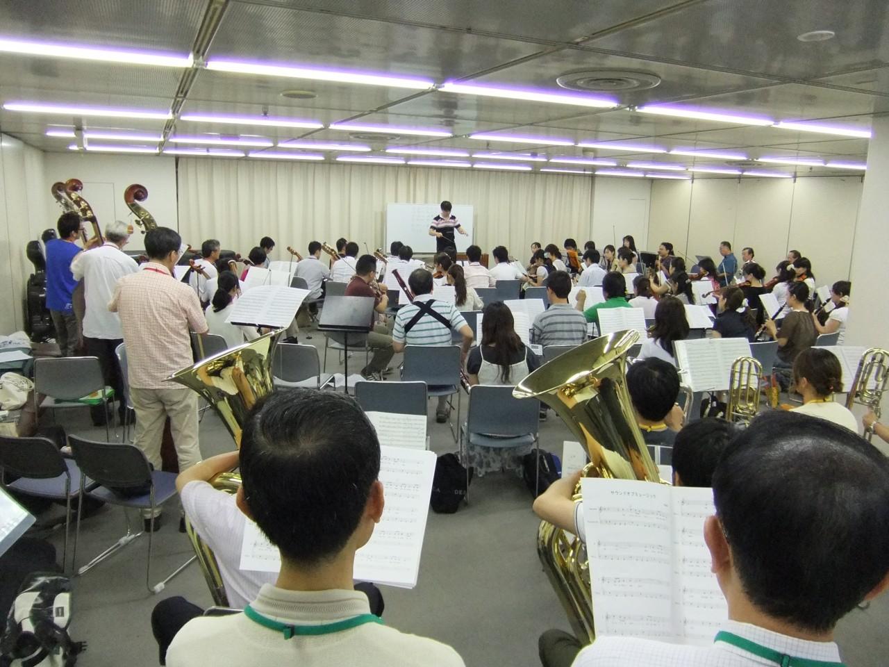 2010年8月21日合同練習
