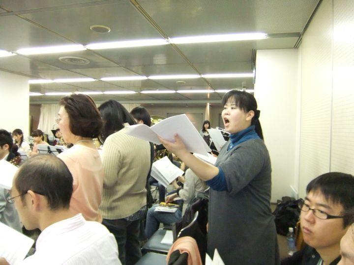 2011年11月26日の合同練習です
