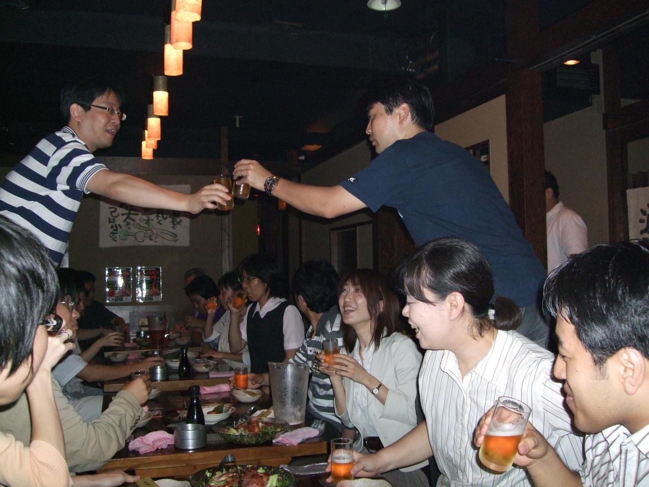 2008年9月23日の合同練習です