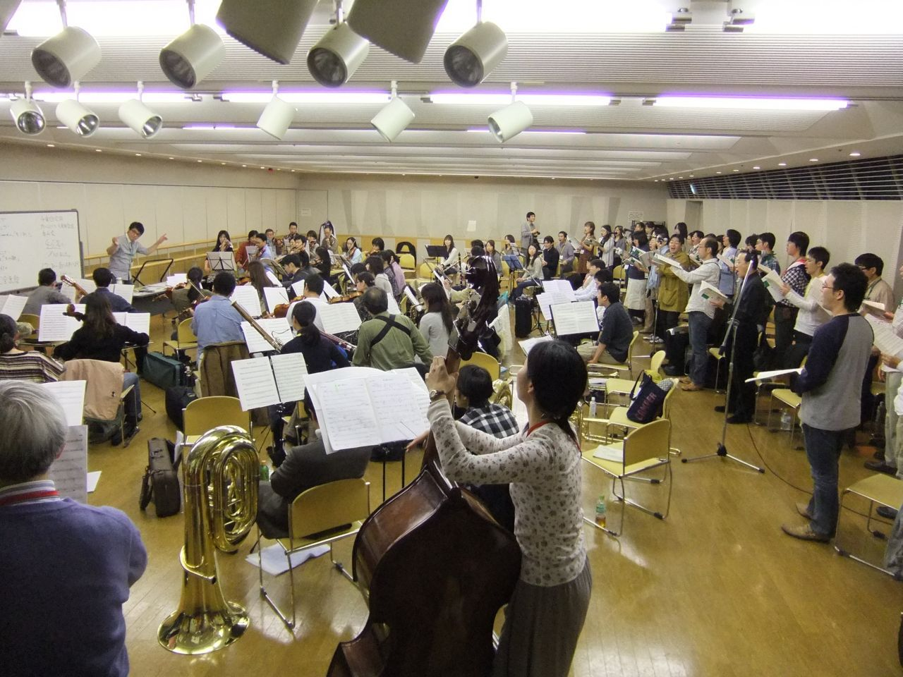 2010年11月14日練習