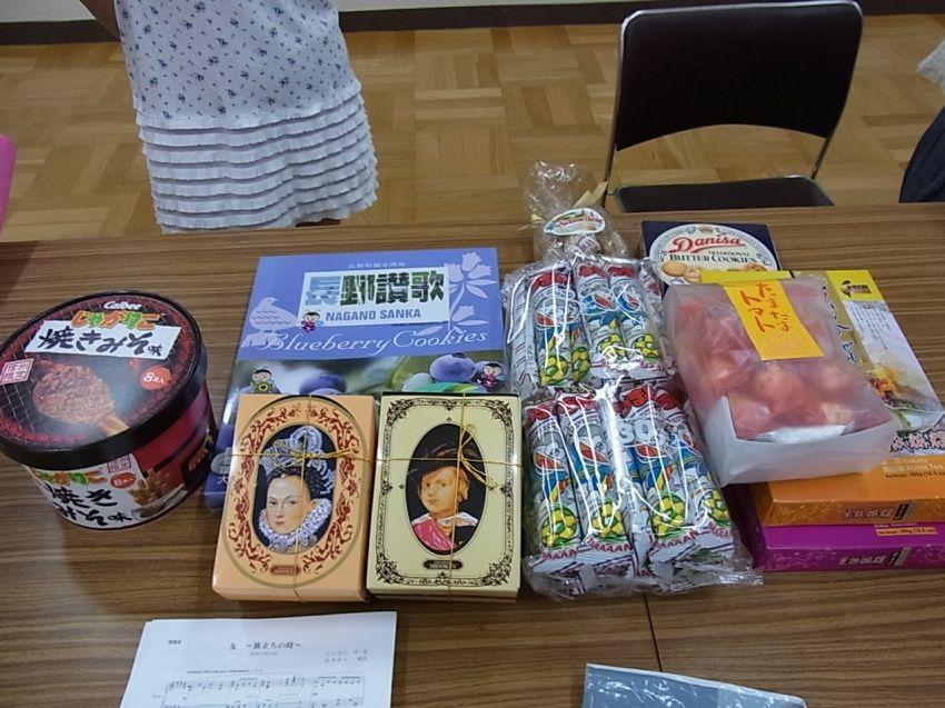 コーラス20130901-お菓子