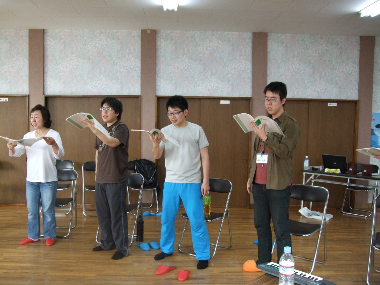 2009年5月3日合宿